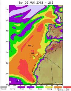 F5LEN propagation tropo map